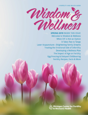 Wisdom & Wellness cover-- issue 1